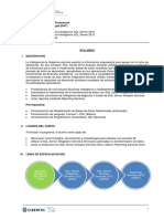 Syllabus Business Intelligence SQL Server 2012