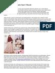 Desain & Motif Gamis Syar'i Murah