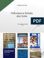MEC Solos - Aula 2 - Natureza e Caracterização