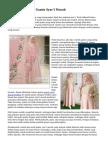 Model serta Motif Gamis Syar'i Murah