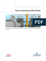 Orifice Meters Practical Guidelines for Specifying Orifice Fittings Technical White Paper en 55774