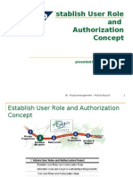 Authorization Concept