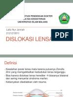 15. K2 O Dislokasi Lensa