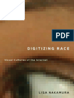 Lisa Nakamura-Digitizing Race_ Visual Cultures of the Internet (Electronic Mediations) (2007)