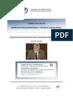 Supremacía constitucional y competencias legislativas