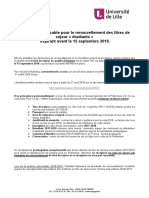 2018 Procédure Renouvellement Recepisse ULille