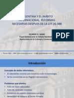 Argentina y El Ambito Internacional.