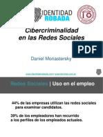 Cibercriminalidad en Las Redes Sociales