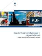 Chemical Oil Gas Catalog Señaletica Seguridad Visual