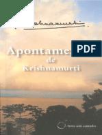 Apontamentos de Krishnamurti - Jiddu Krishnamurti.pdf