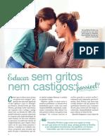 Educar Sem Gritos - Nuno Pinto Martins