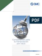 Componentes para minipulación por vacio