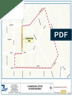 Kalamazoo Mall utility work detour