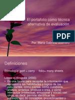 el-portafolio-como-tecnica-alternativa-de-evaluacion.ppt