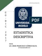 Manual de Estadistica 1 2014