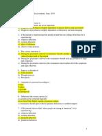 Psychiatry exam