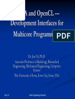 2009_12_23_CUDA and OpenCL Development Interface for Multicore Programming