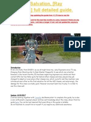 Detailed Ray Mechanic guide pdf | Regeneration (Biology