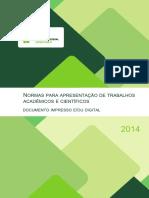 Norma ApresentaçãoTrab Acad Cient-IfES-2014