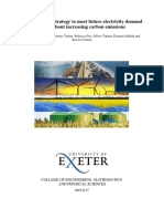 A Non-nuclear Strategy to Meet Future Electricity Demand in the UK
