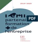 Catalogue ami 2019 - Partenaire formation de l'entreprise