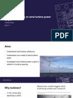 Wind Turbines Presentation