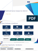 Healthcare Sector Analysis for 2018-19
