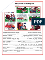 Une Excursion Compliquee Passe Compose Exercice Grammatical Feuille Dexercices Unaun Ment 105955