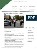 _}Dos Muertos y Un Herido Grave Por Ataque a Cuchillo en París