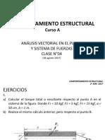Clase N°04_ Comportamiento Estructural (A)_ 28.08.2017