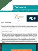 User Manual My Performance Appraisee Appraiser