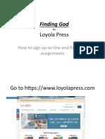 loyola press instructions  2