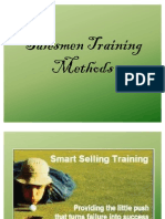 Salesmen Training Methods