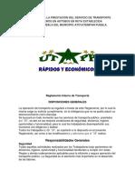 REGLAMENTO PARA LA PRESTACIÓN DEL SERVICIO DE TRANSPORTE URBANO DE PASAJEROS EN AUTOBÚS EN RUTA ESTABLECIDA ATOYATEMPAN.docx
