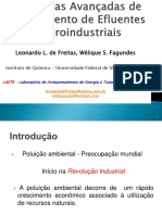 Técnicas Avançadas de Tratamento de Efluentes Agroindustriais.pptx