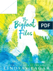 The Bigfoot Files by Lindsay Eagar Chapter Sampler