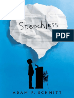 Speechless by Adam P. Schmitt Chapter Sampler