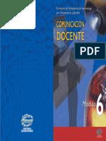 modulo6 Comunicación Docente