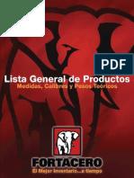 Fortacero Catalogo PDF Sept 17