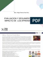 Evaluacion y Seguimiento Al Impacto de Los Aprendizajes.