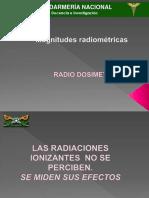 Radiodosimetria Clase
