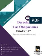 Derecho de Las Obligaciones Plan 2017 A UNNE