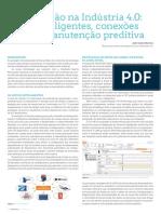 [Artigo] - Manutenção Na Indústria 4.0 - Ativos Inteligentes, Conexões Cloud e Manutenção Preditiva