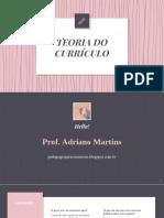 Currículo - A Construção Social Do Conhecimento - Pedagogia Para Concursos