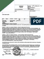 Klages Warrant