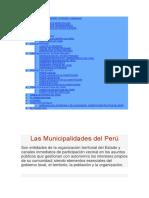 Organizaciones Civiles y Locales