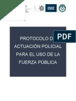 1. Protocolo Uso de La Fuerza