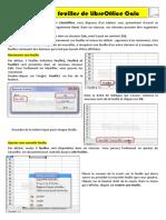 LibreOffice Calc-Les Feuilles