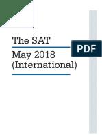 SAT April 2018