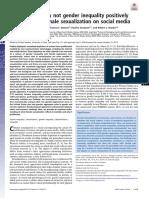 Proceedings of the National Academy of Sciences Volume Issue 2018 [Doi 10.1073%2Fpnas.1717959115] Blake, Khandis R.; Bastian, Brock; Denson, Thomas F.; Grosjean, -- Income Inequality Not Gender Inequa